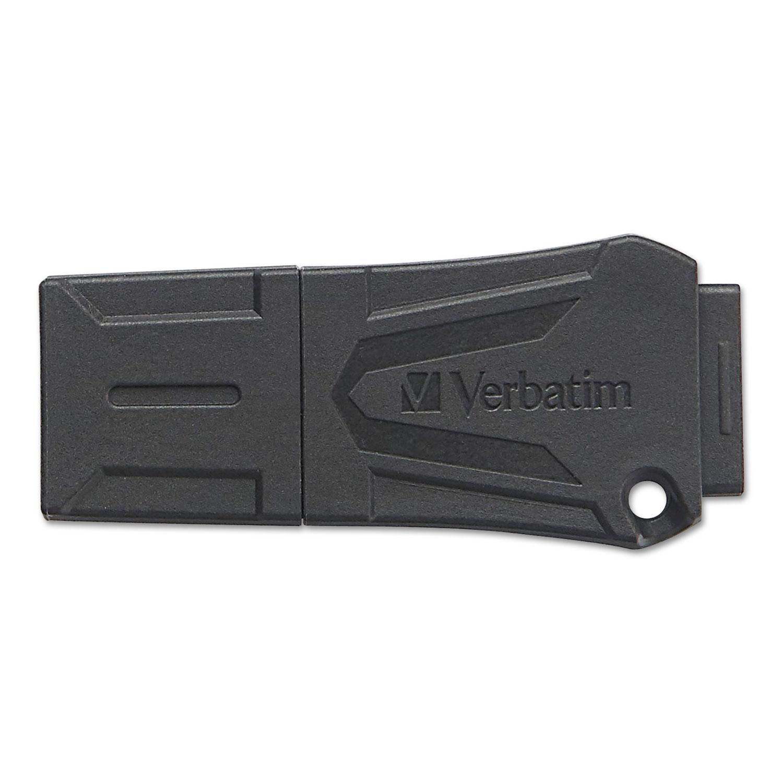 ToughMAX USB Flash Drive, 16 GB, Black