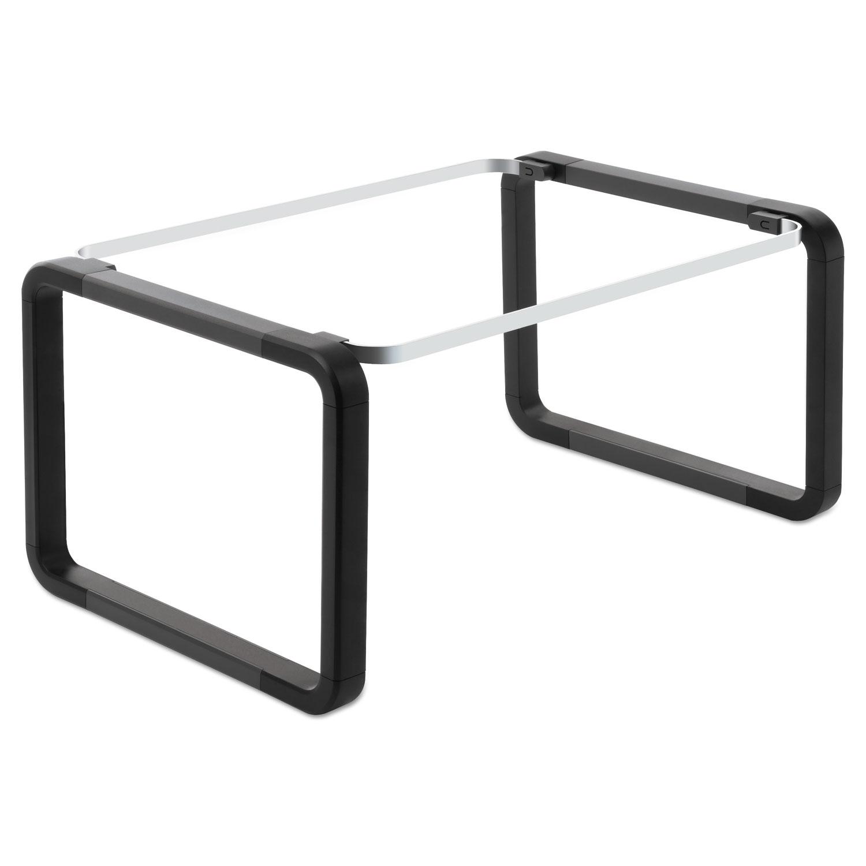 "Modern Hanging File Folder Frame, Legal/Letter Size, 16-22"" Long, Plastic"