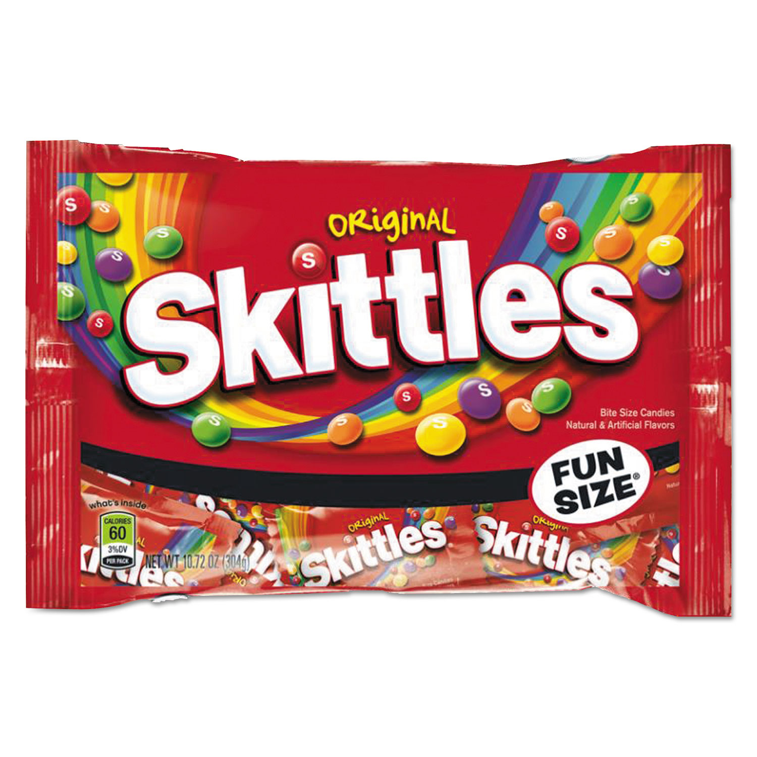 Chewy Candy, Original Skittle Flavor, 10.72 oz Bag