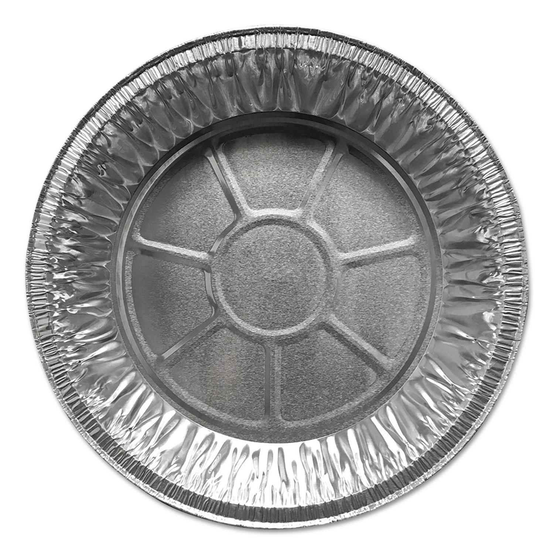 """Aluminum Pie Pans, 9"""" Dia., Shallow, 500/Carton"""