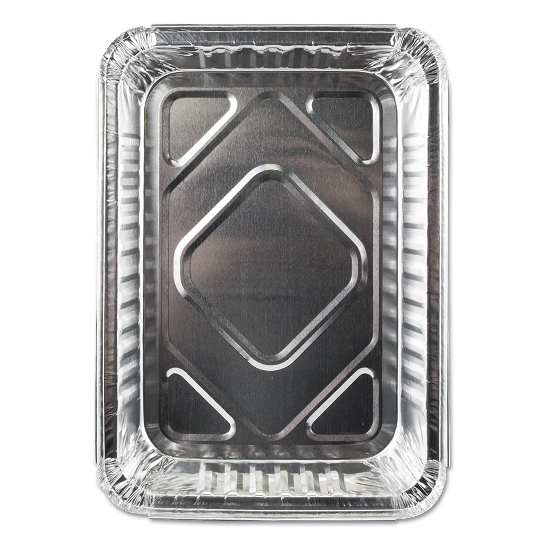 Aluminum Closeable Containers, 1.5 lb Oblong, 500/Carton