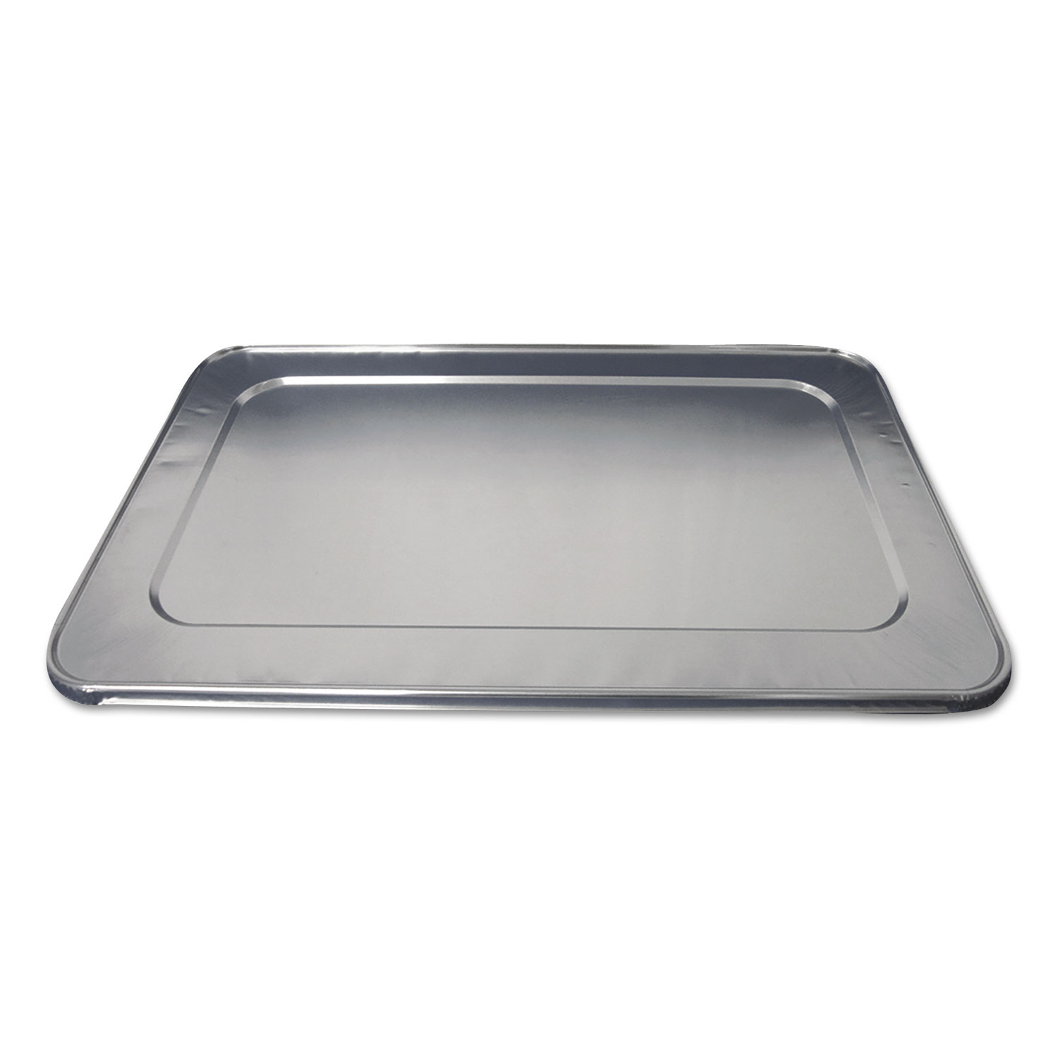Aluminum Steam Table Lids for Heavy-Duty Full Size Pan, 50/Carton