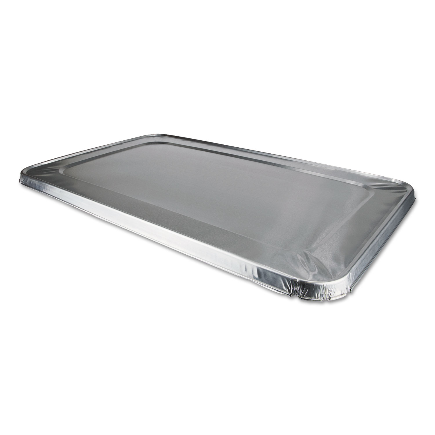 Aluminum Steam Table Lids for Rolled Edge Half Size Pan, 50/Carton
