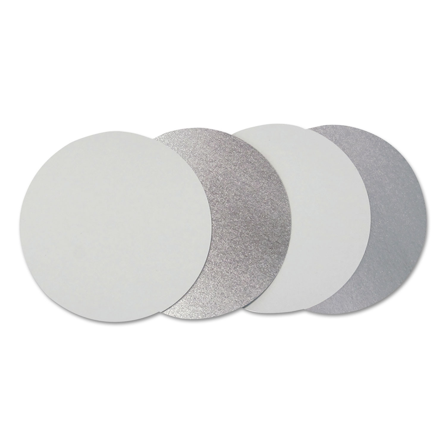 """Flat Board Lids for 7"""" Round Containers, 500 /Carton"""