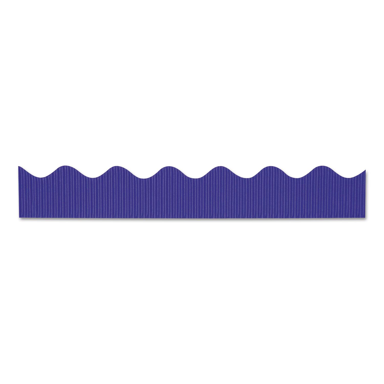 """Bordette Decorative Border, 2 1/4"""" x 50 ft, Royal Blue, 1 roll"""