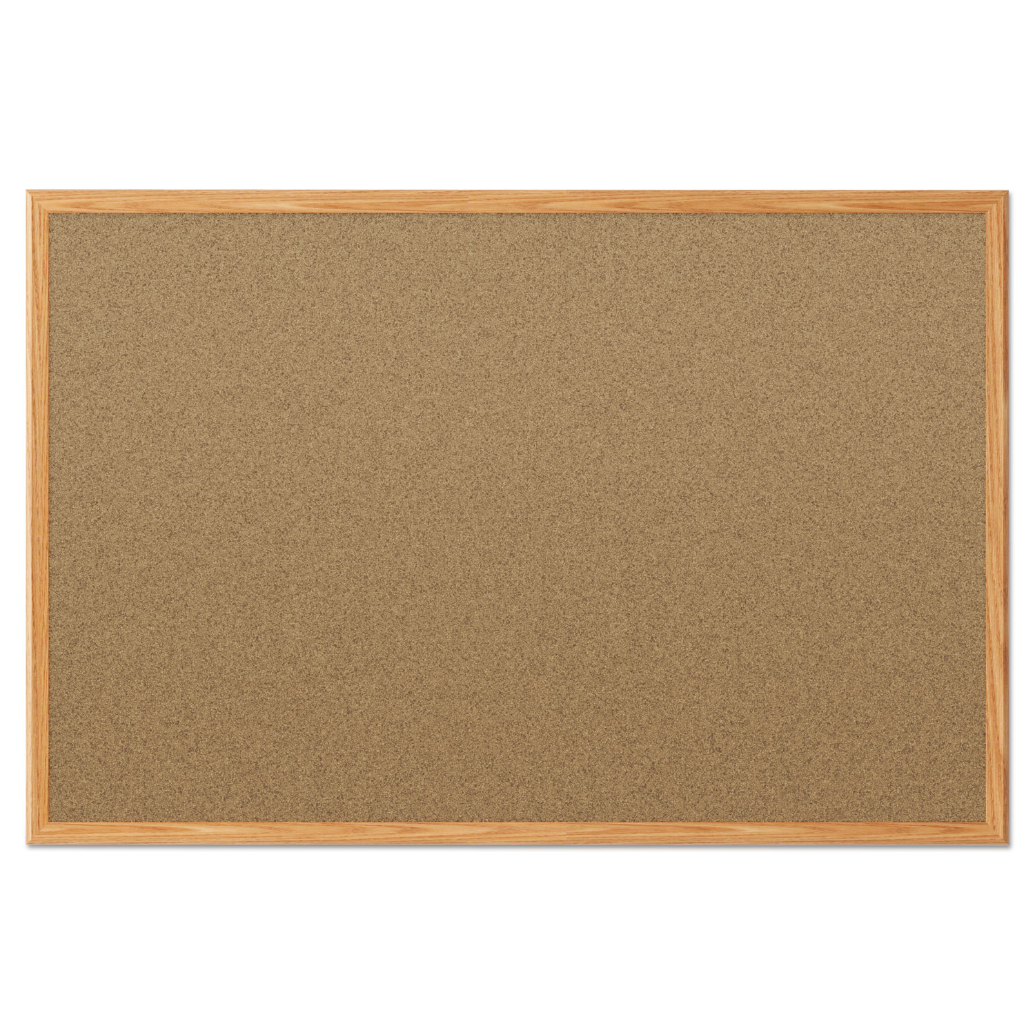 Cork Bulletin Board 48 X 36 Oak Frame Snap Supplies
