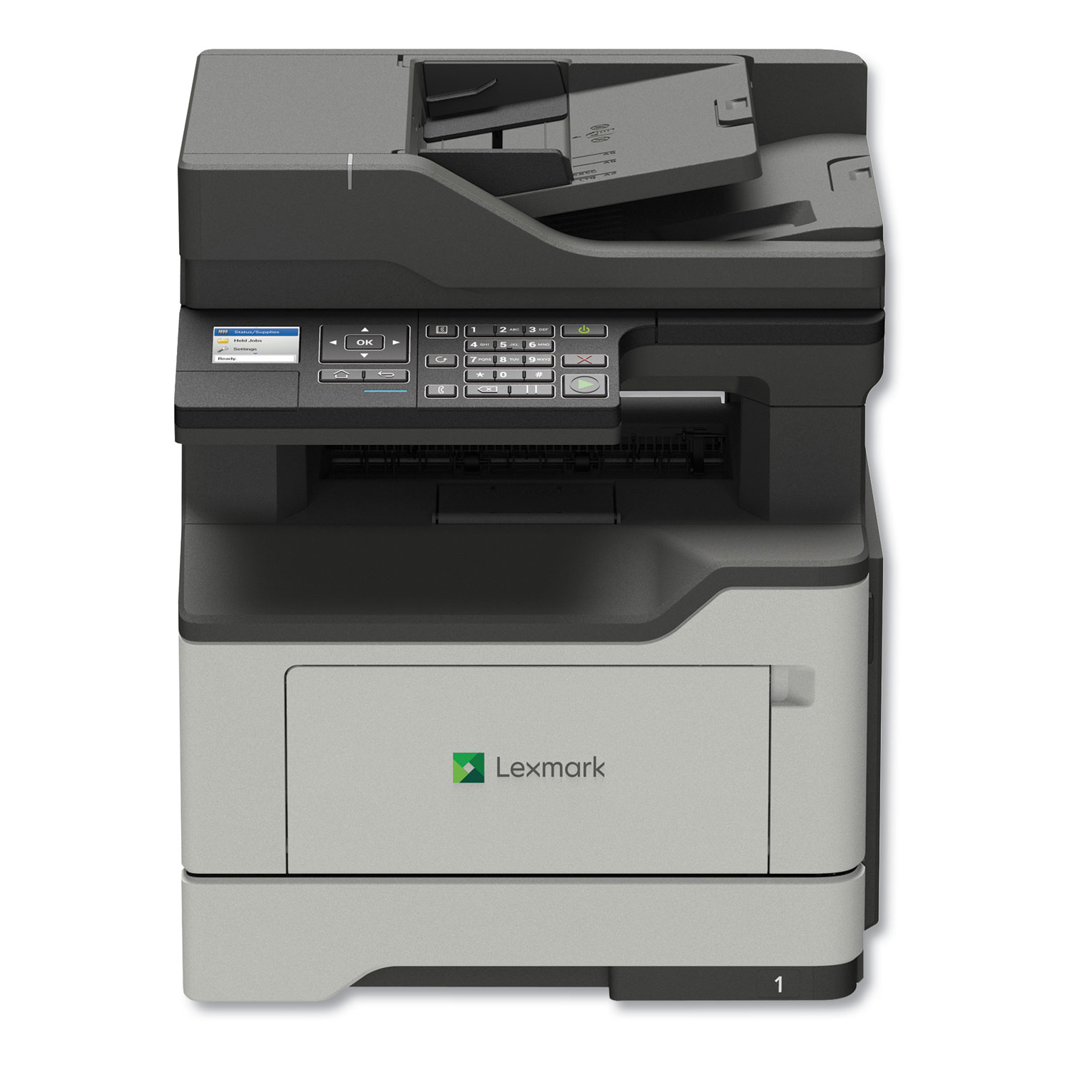 MX321adn Monochrome Laser Multifunction Printer, Copy/Fax/Print/Scan