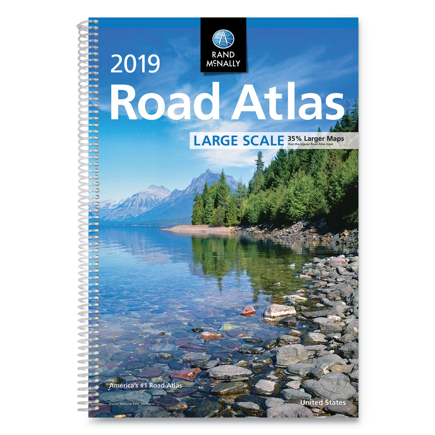 Rand McNally Road Atlases, 2019, Spiral, 264 Pages