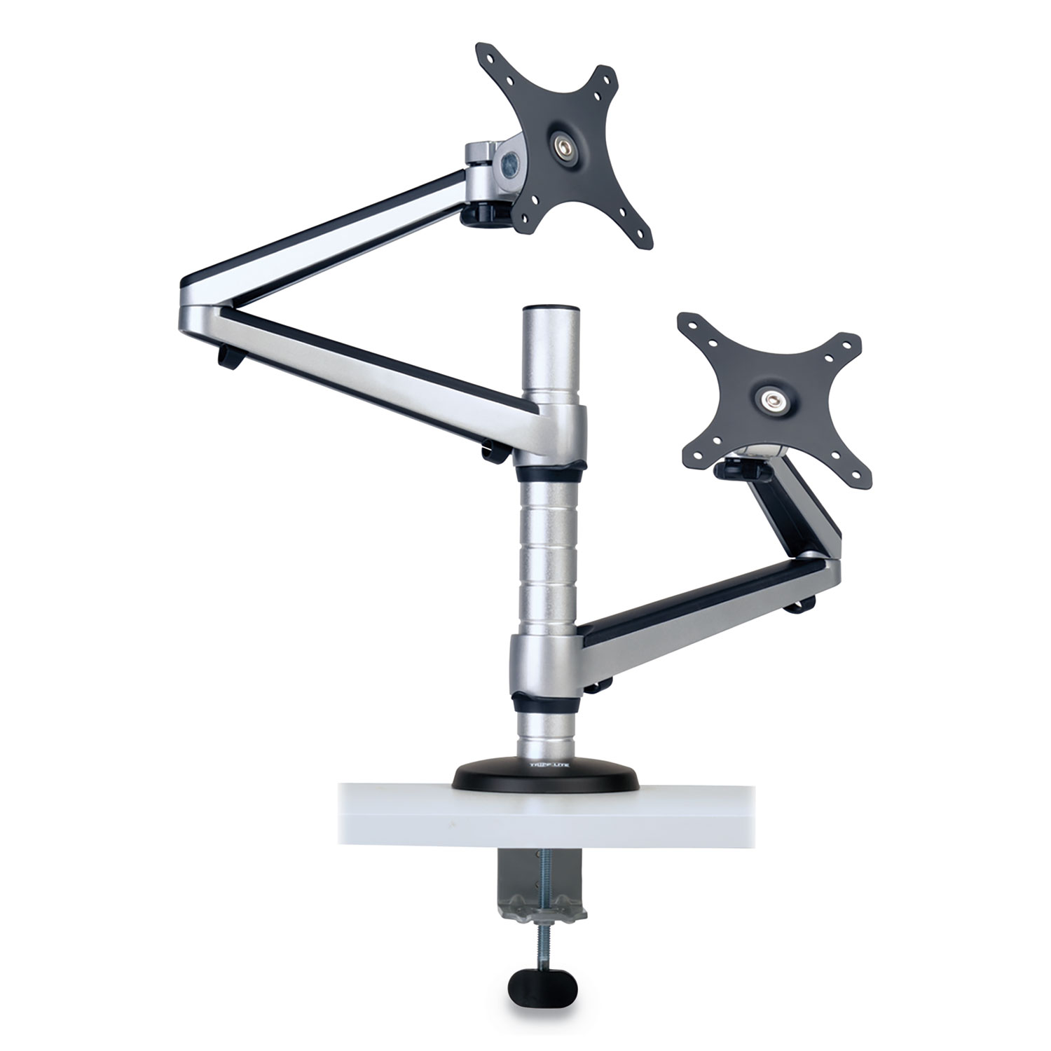 Dual Full Motion Flex Arm Desk Clamp, For 13″ To 27″ Monitors, Up To 22 Lbs/Arm