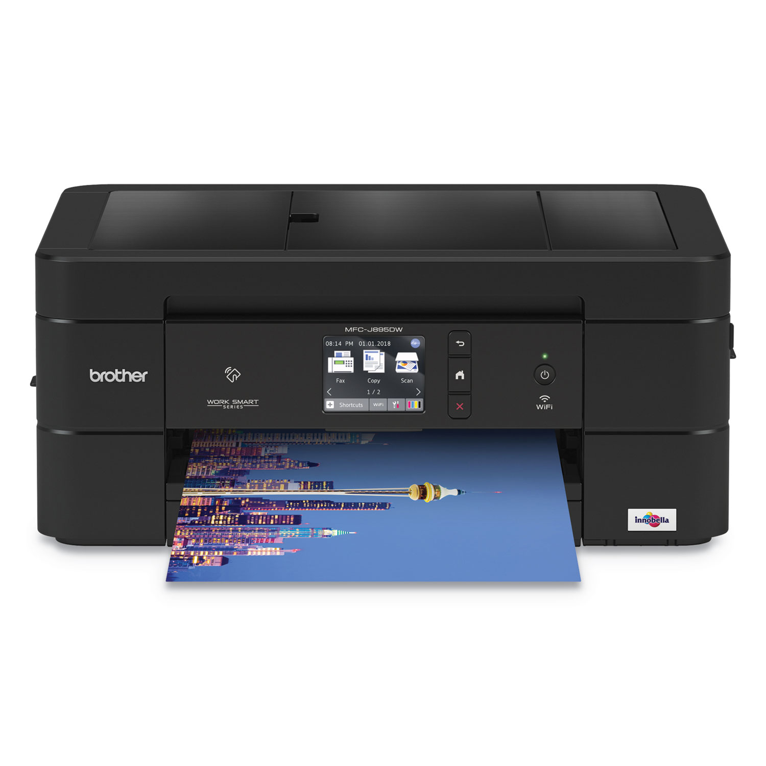 MFC-J895DW Wireless Color Inkjet All-in-One Printer, Copy/Fax/Print/Scan