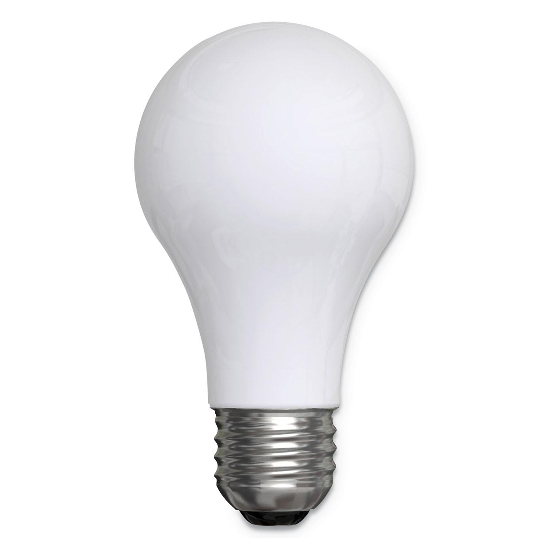 Reveal A19 Light Bulb, 43 W, 4/Pack
