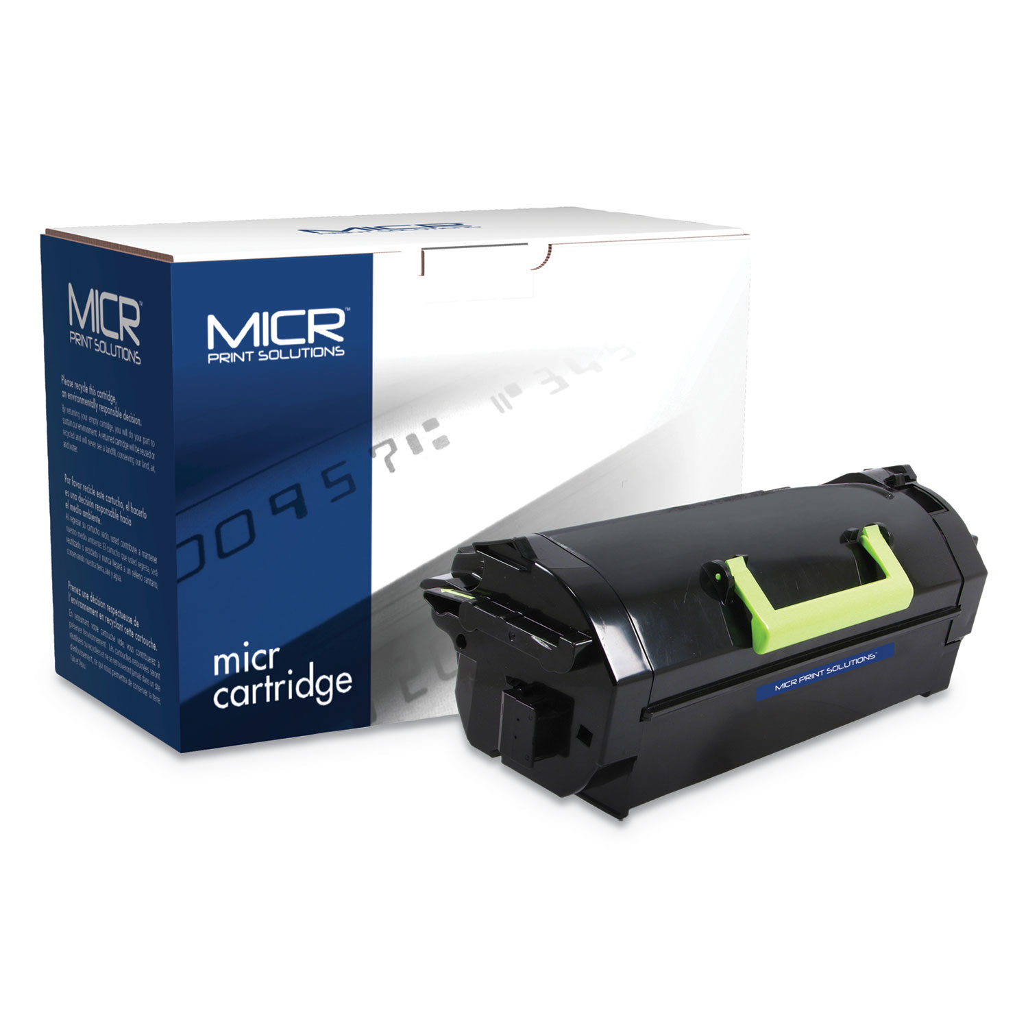Compatible 52D0XA0/52D1X00 Extra High-Yield MICR Toner, 45000 Page-Yield, Black