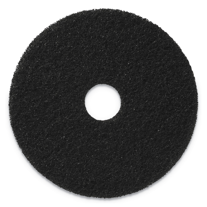 "Stripping Pads, 19"" Diameter, Black, 5/CT"