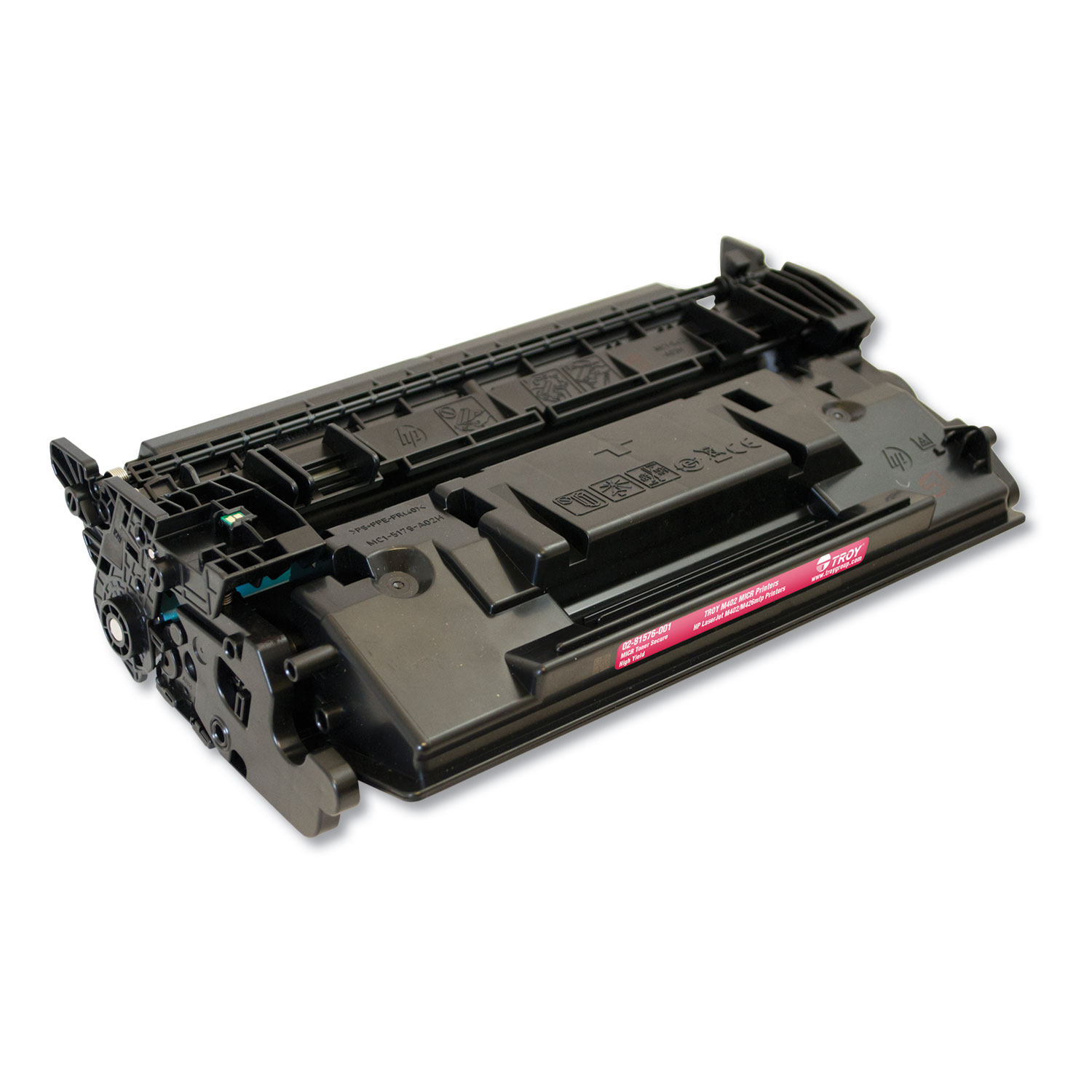 281576001 26X High-Yield MICR Toner Secure, Alternative for HP CF226X, Black