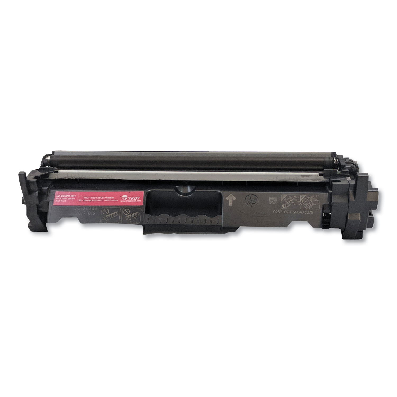 0282029001 30X High-Yield MICR Toner Secure, Alternative for HP CF230X, Black