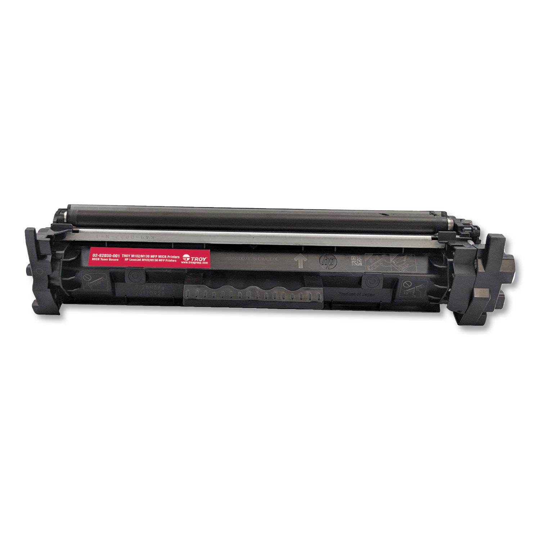 0282030001 17A MICR Toner Secure, Alternative for HP CF217A, Black