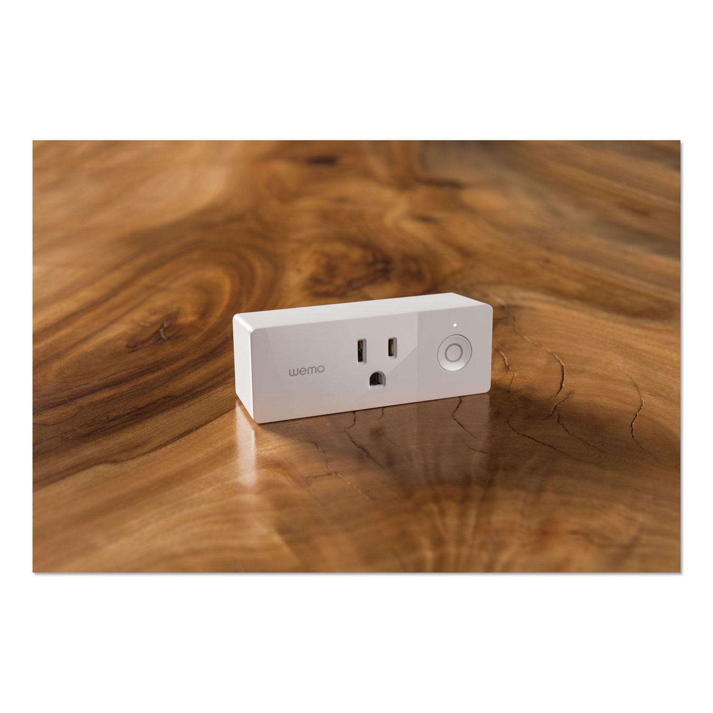 Mini Smart Plug, 2.4″ X 3.8″ X 1.4″, 120 V