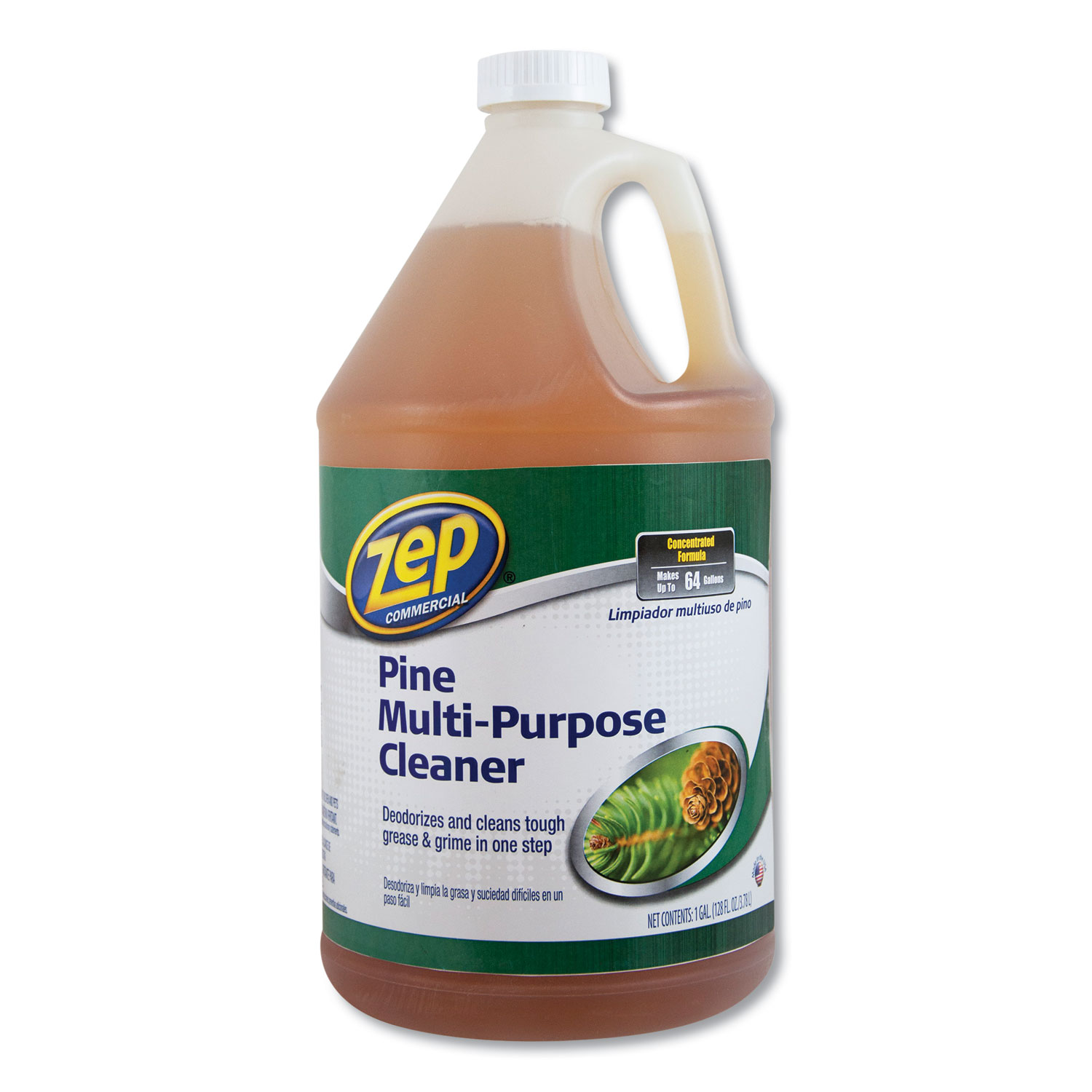 Pine Multi-Purpose Cleaner, Pine Scent, 1 Gal, 4/Carton