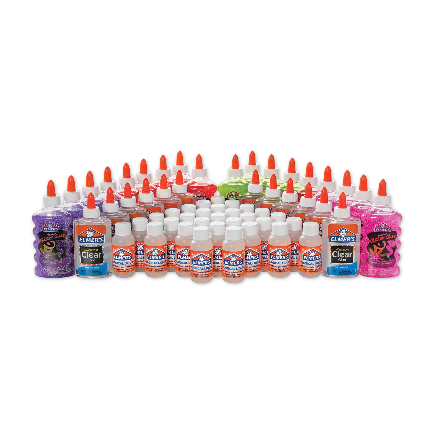 Slime Class Pack, 1.85 gal, Assorted Colors