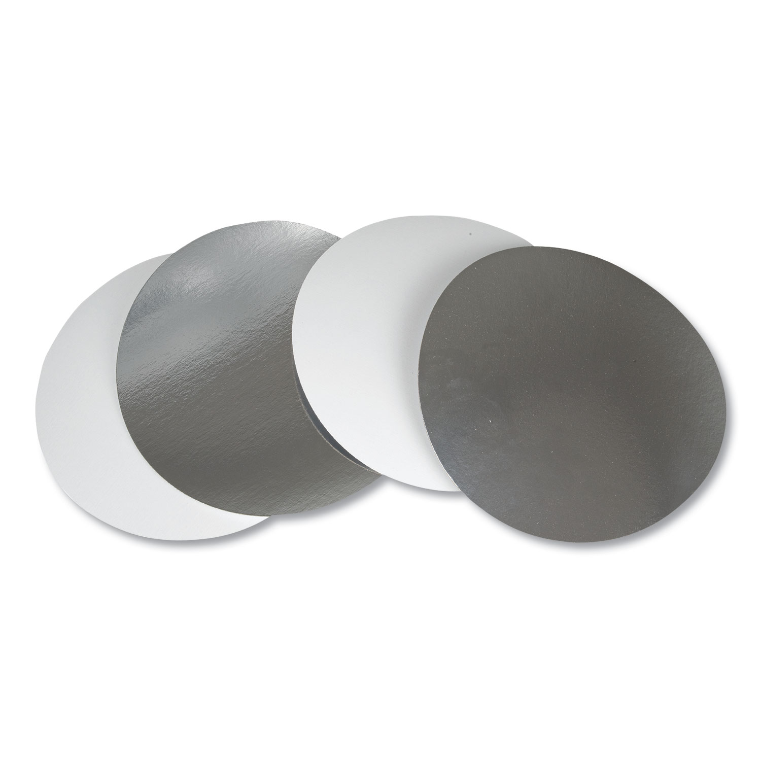 """Flat Board Lids for 8"""" Round Containers, 500 /Carton"""