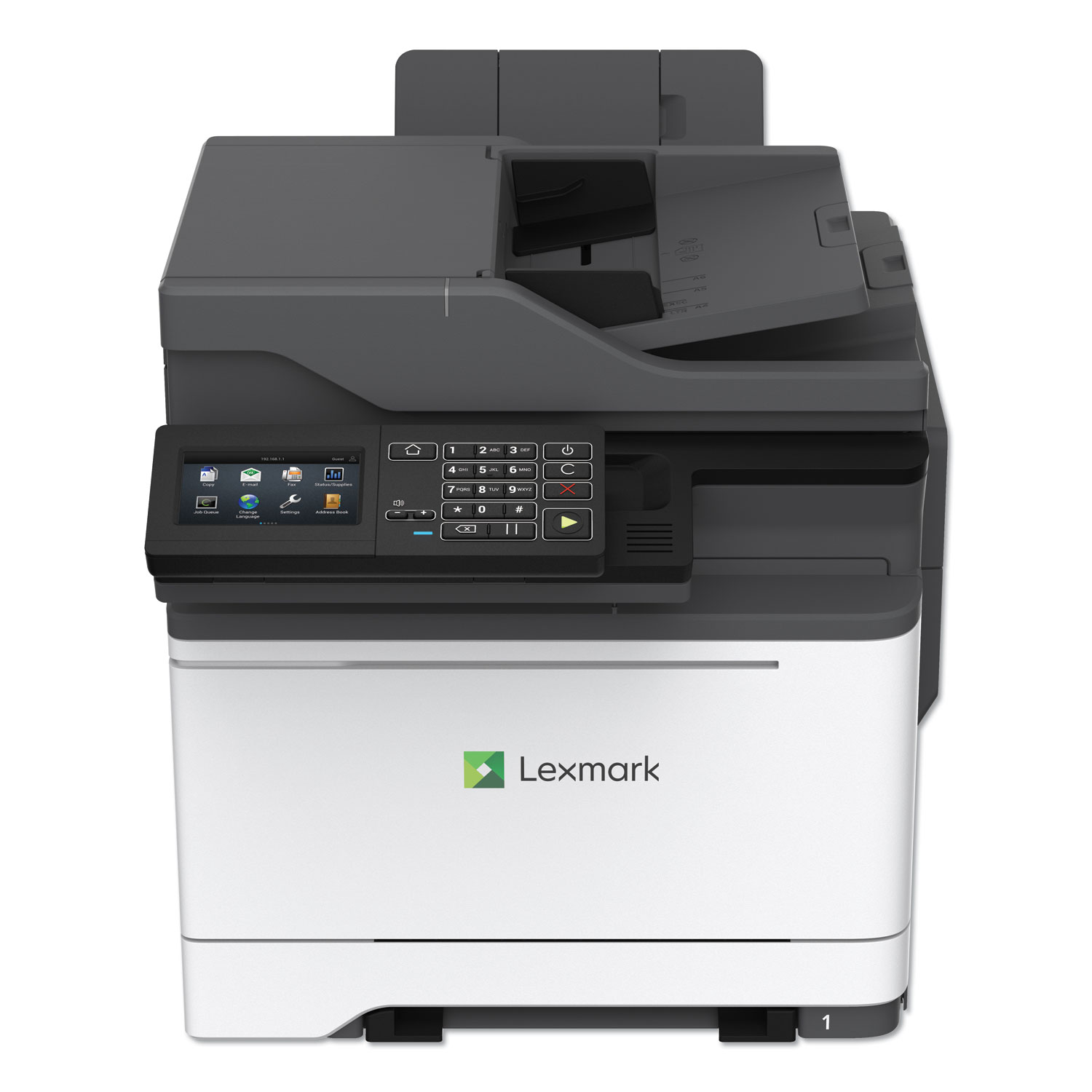 CX622ade Multifunction Printer, Copy/Fax/Print/Scan