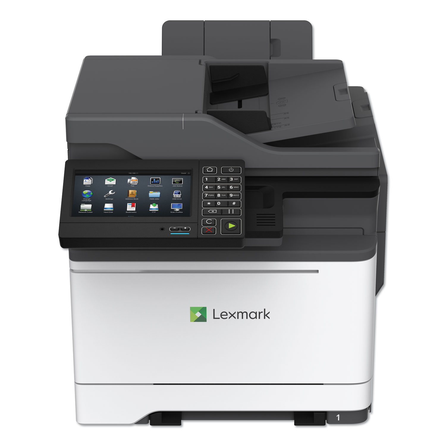 CX625ade Multifunction Printer, Copy/Fax/Print/Scan