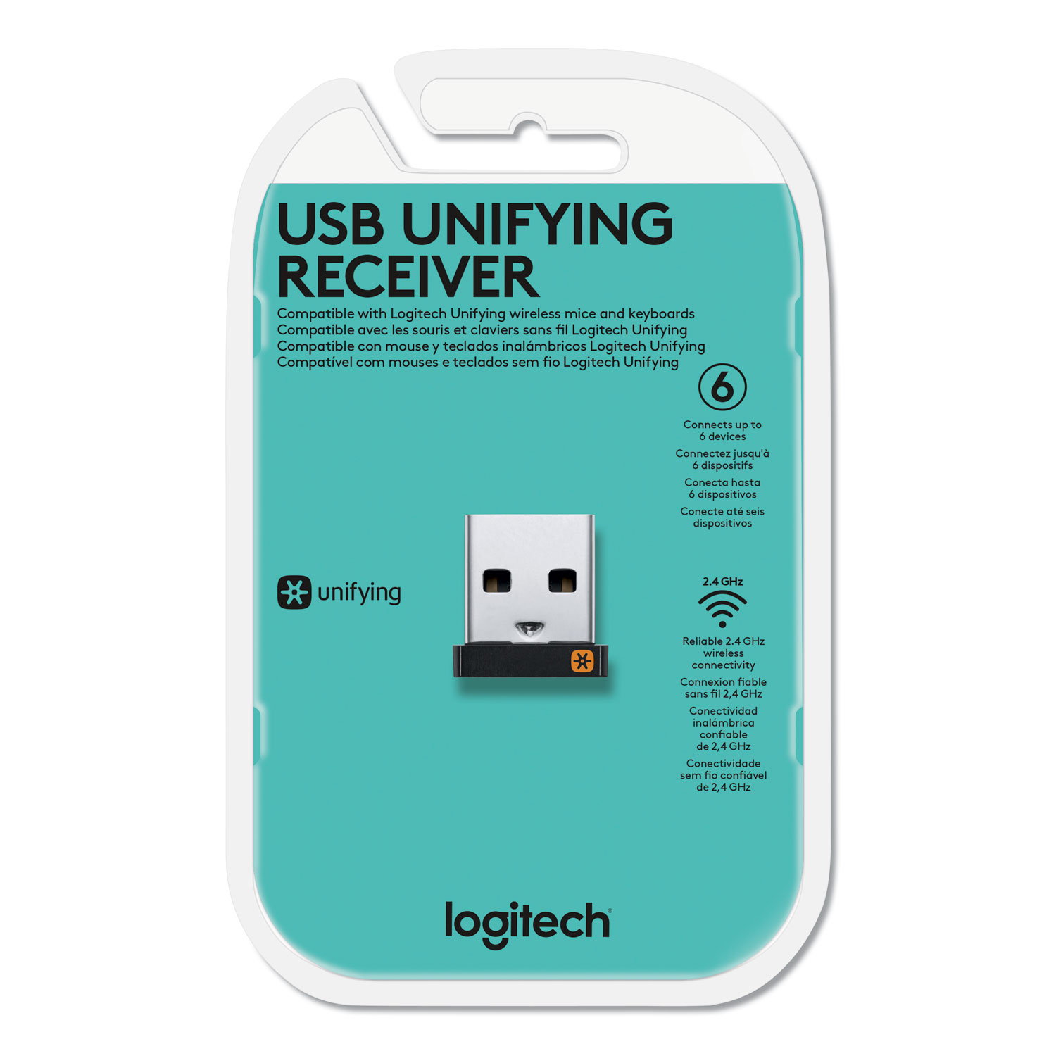 03a1ec6df9a USB Unifying Receiver, Black - Sani-Chem Cleaning Supplies