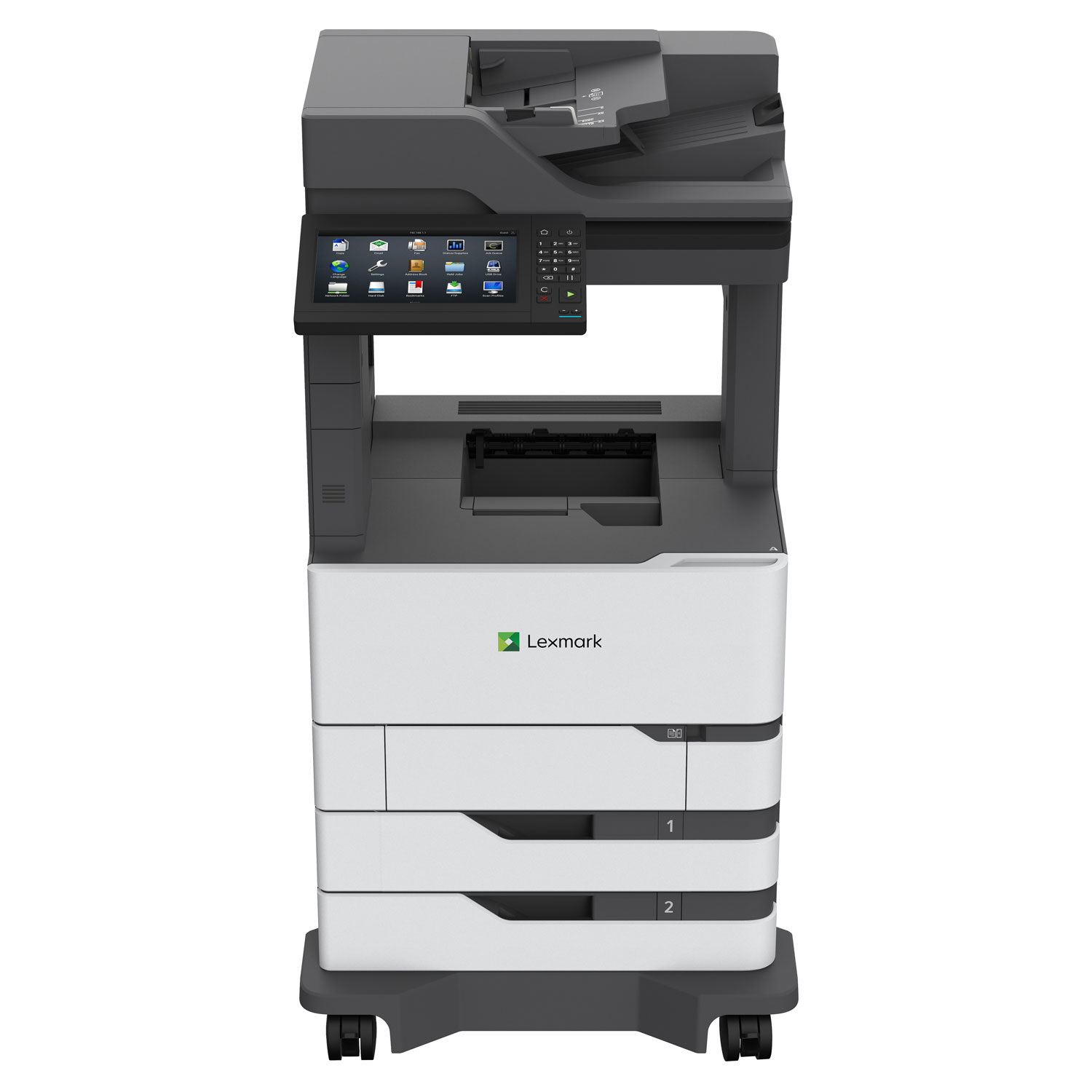 MX826ade Multifunction Printer, Copy/Fax/Print/Scan