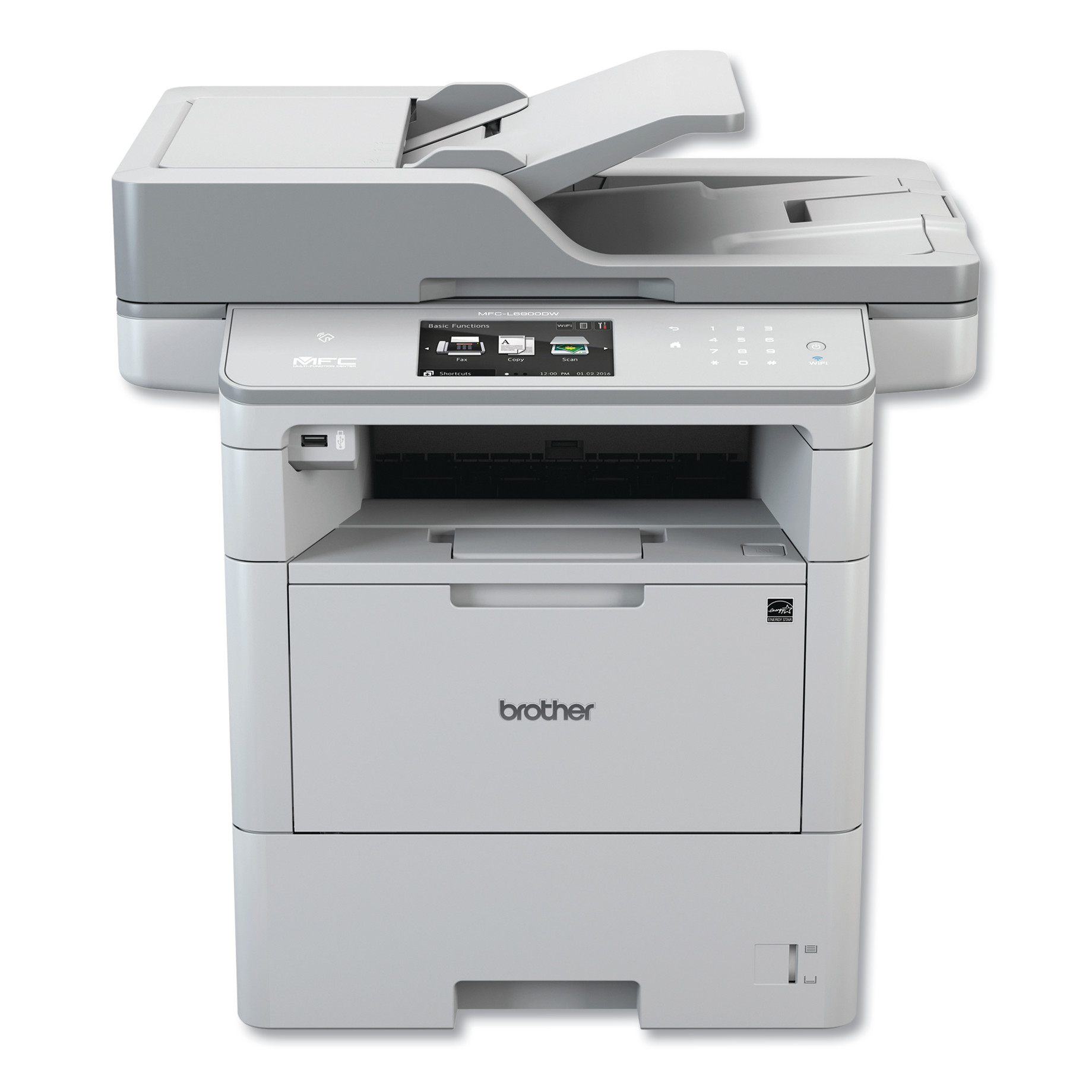 Mono-Laser Printer MFC-L6900DW, Copy/Fax/Print/Scan