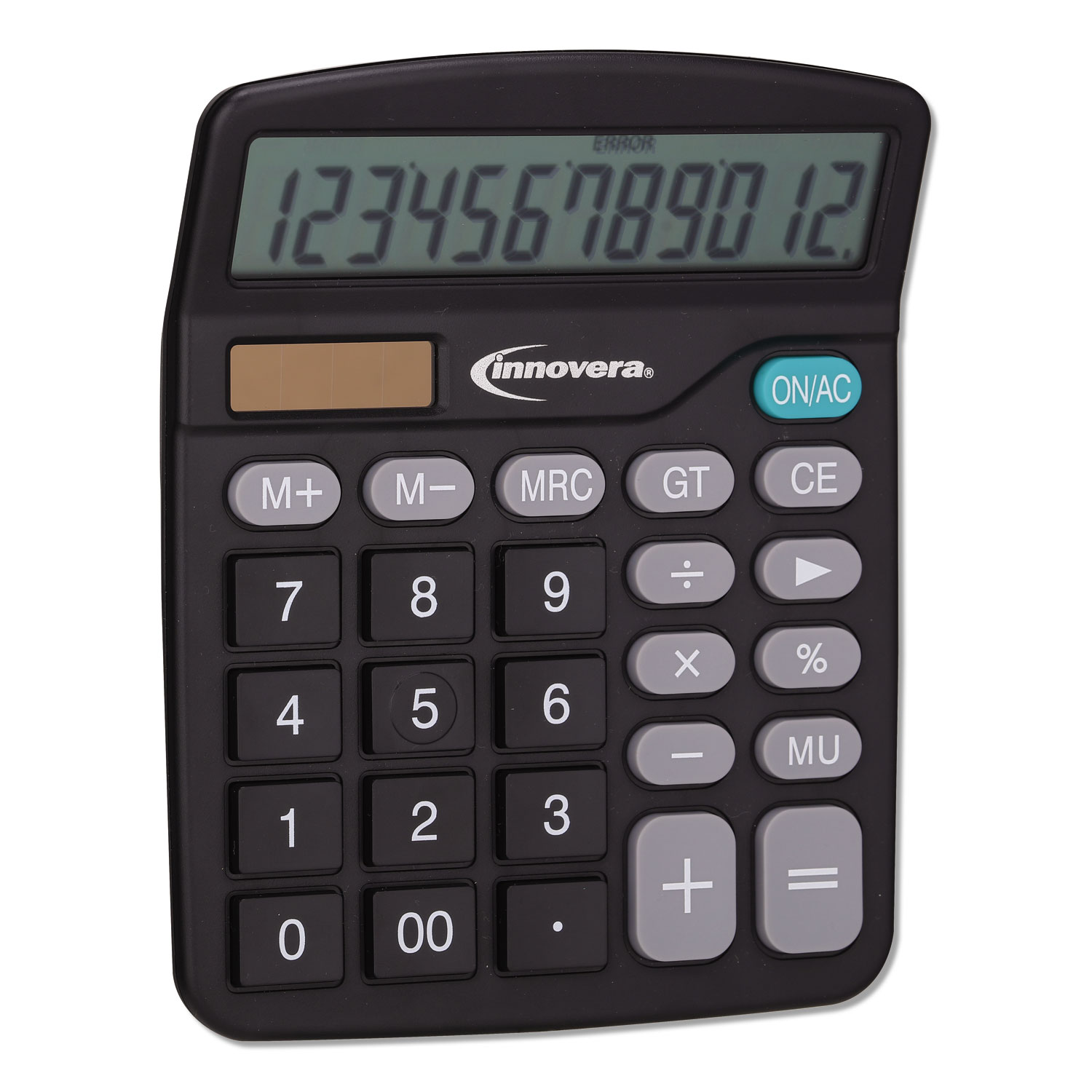 15923 Desktop Calculator, 12-Digit, LCD