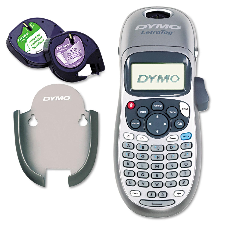 letratag 100h label maker by dymo dym21455 ontimesupplies com