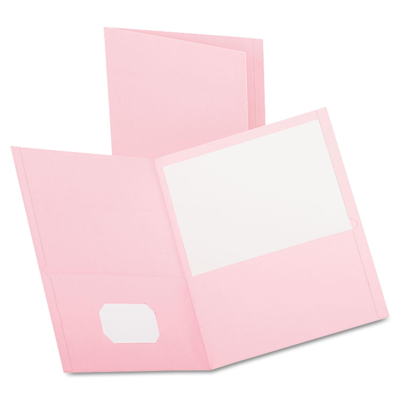 Twin-Pocket Folder by Oxford™ OXF57568   OnTimeSupplies.com