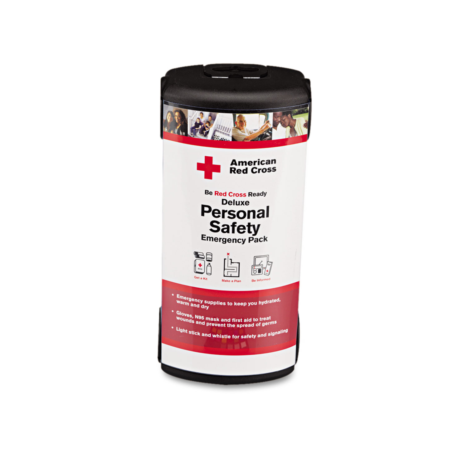 Deluxe Personal Safety Emergency Pack, 31-Pieces, Plastic Case