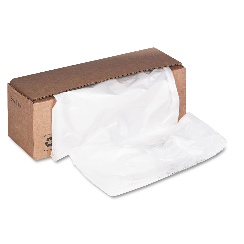 Shredder Waste Bags, 32-38 gal Capacity, 50/Carton