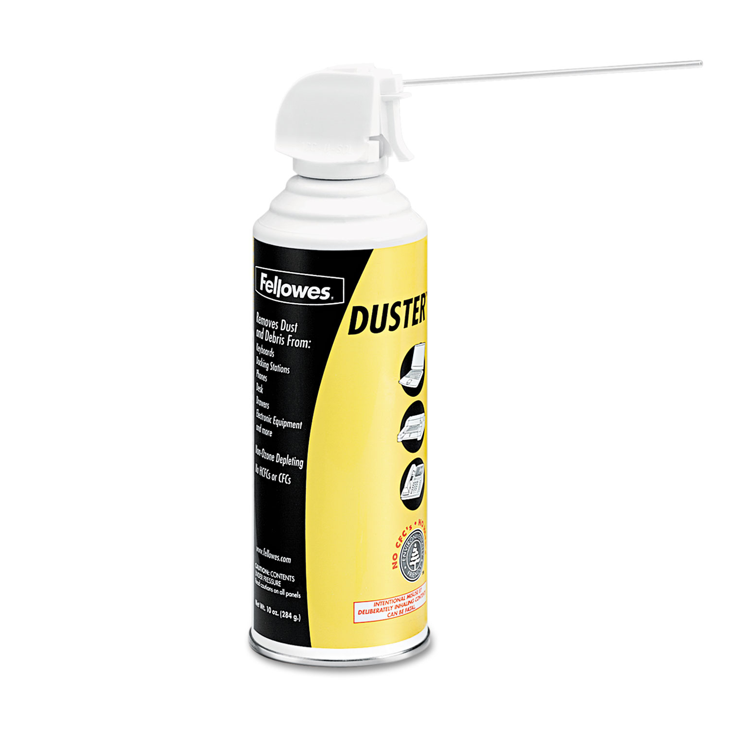 Air Duster, 152A Liquefied Gas, 10oz Can