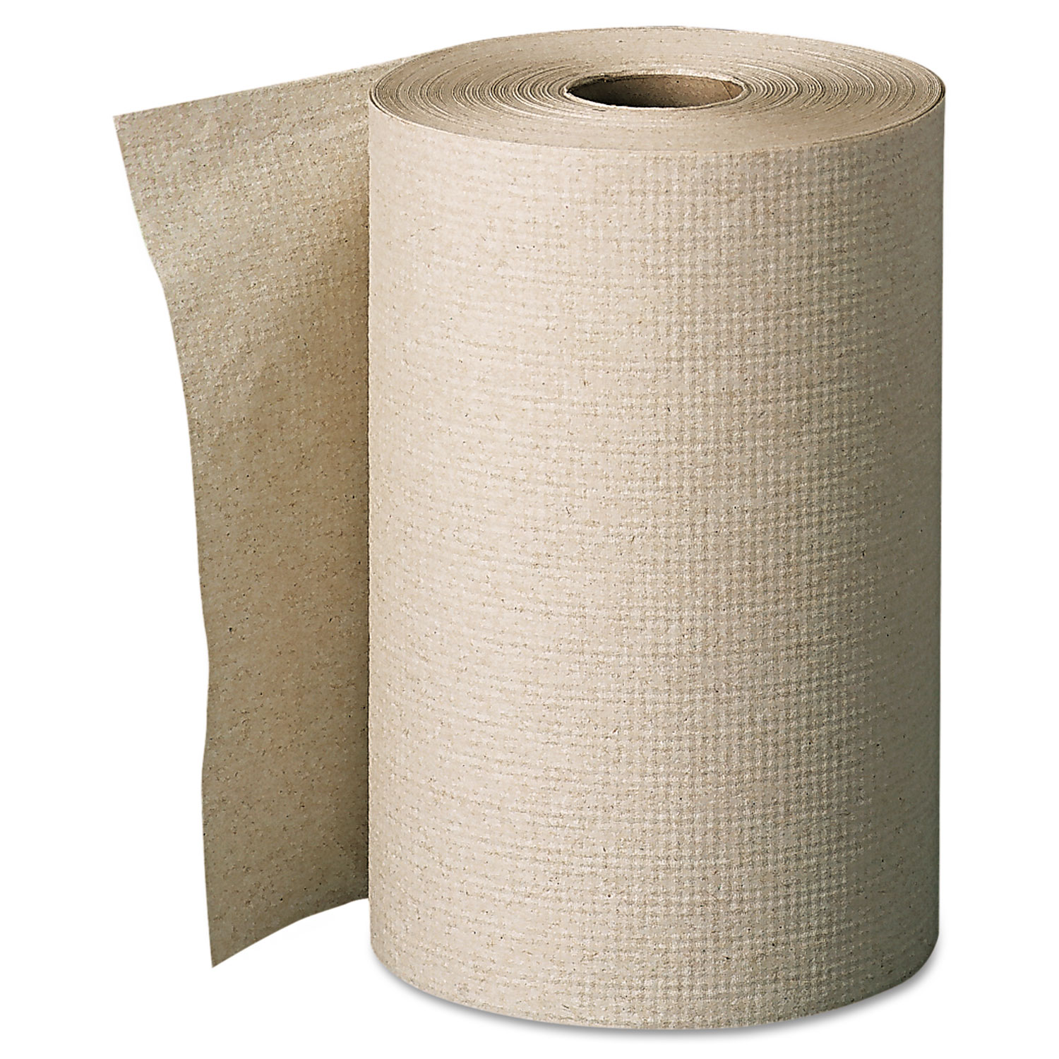 Pacific Blue Basic Nonperforated Paper Towels, 7 7/8 x 350ft, Brown, 12 Rolls/CT