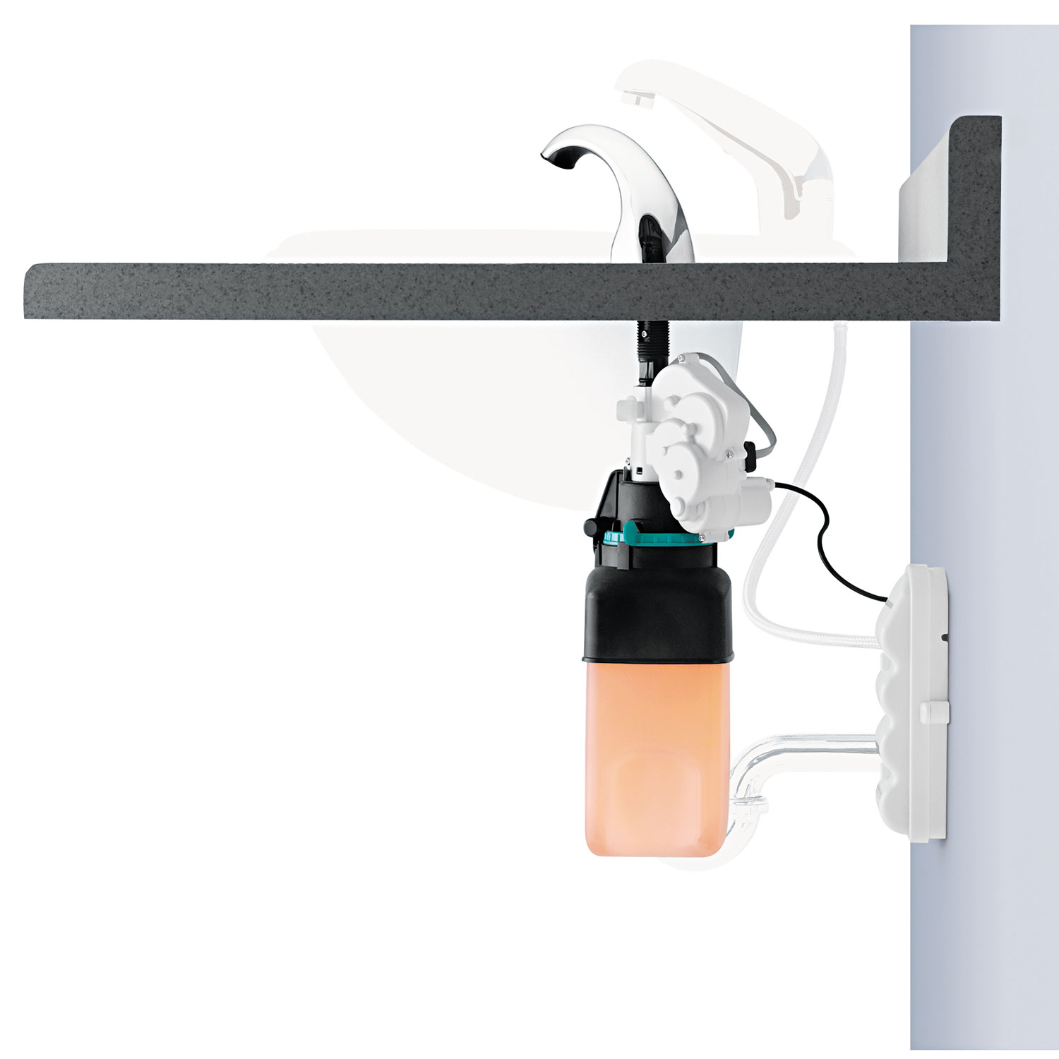 Cxi Touch Free Counter Mount Liquid Soap Dispenser By Gojo