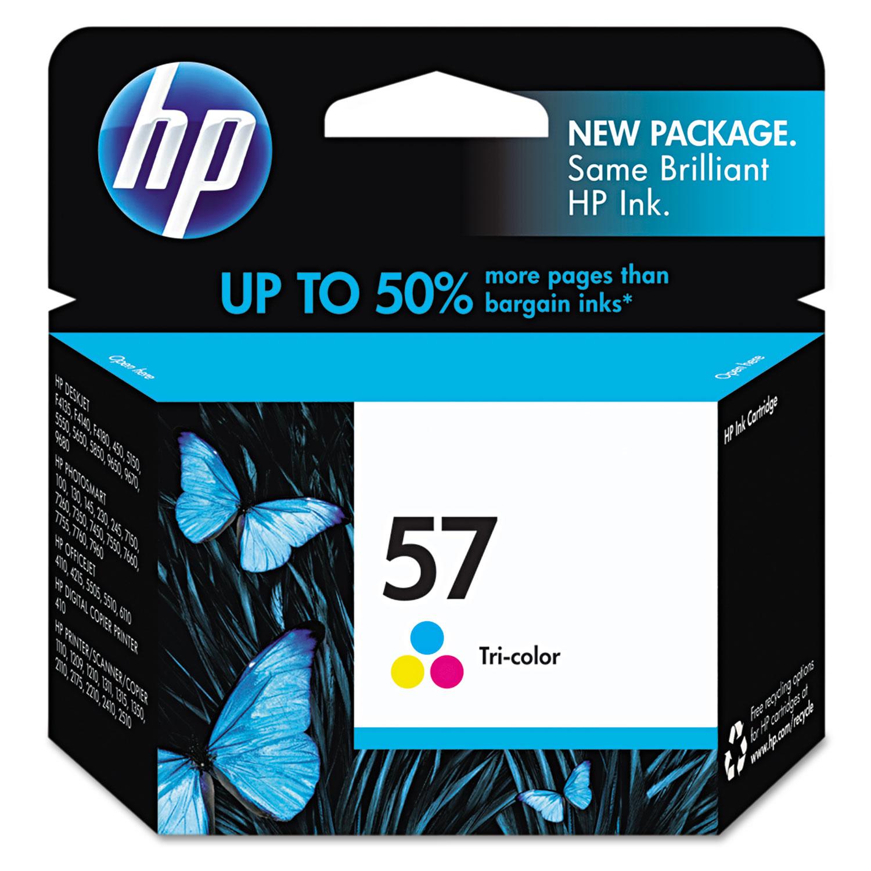 HP 57, (C6657AN) Tri-color Original Ink Cartridge