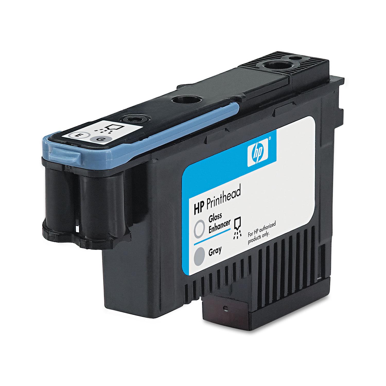 HP 70, (C9410A) Gloss Enhancer/Gray Printhead