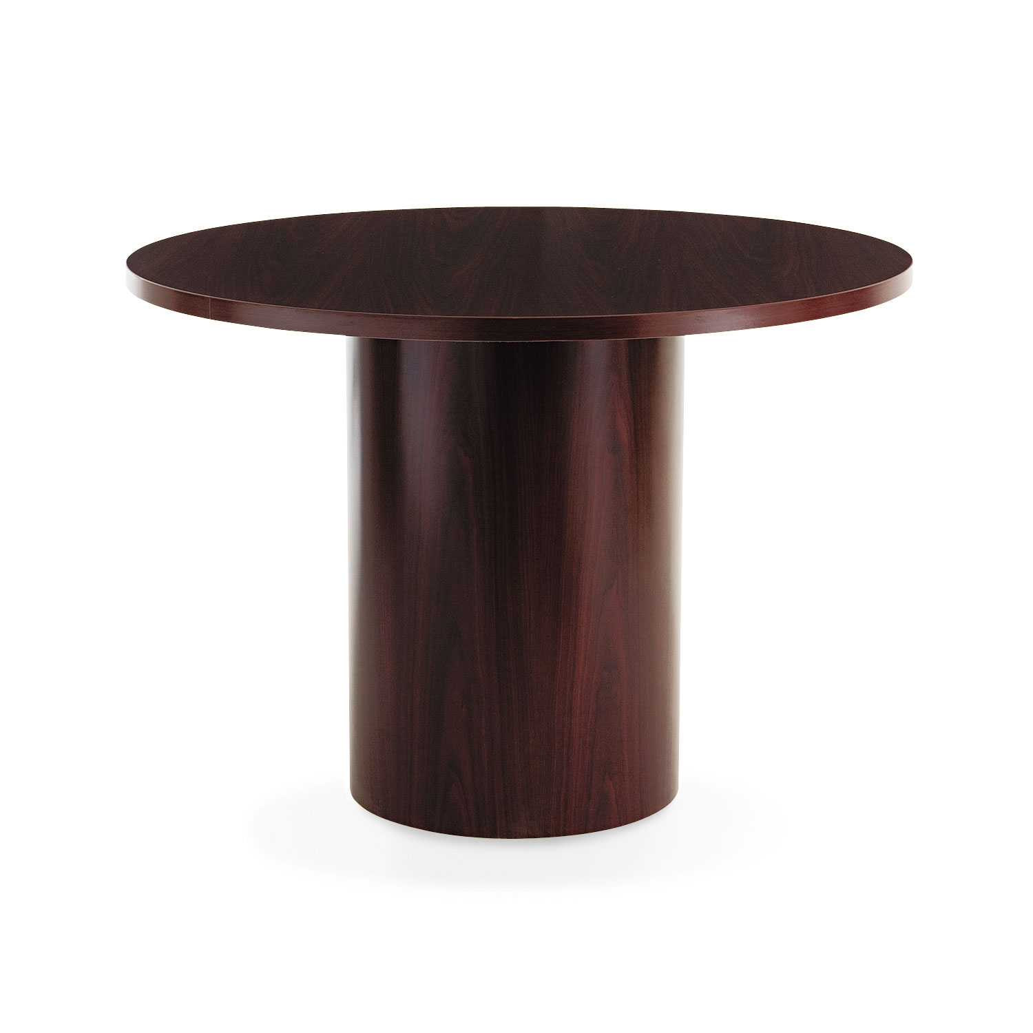 Laminate Cylinder Table Base By HON HONTLRAN OnTimeSuppliescom - Hon 42 round conference table