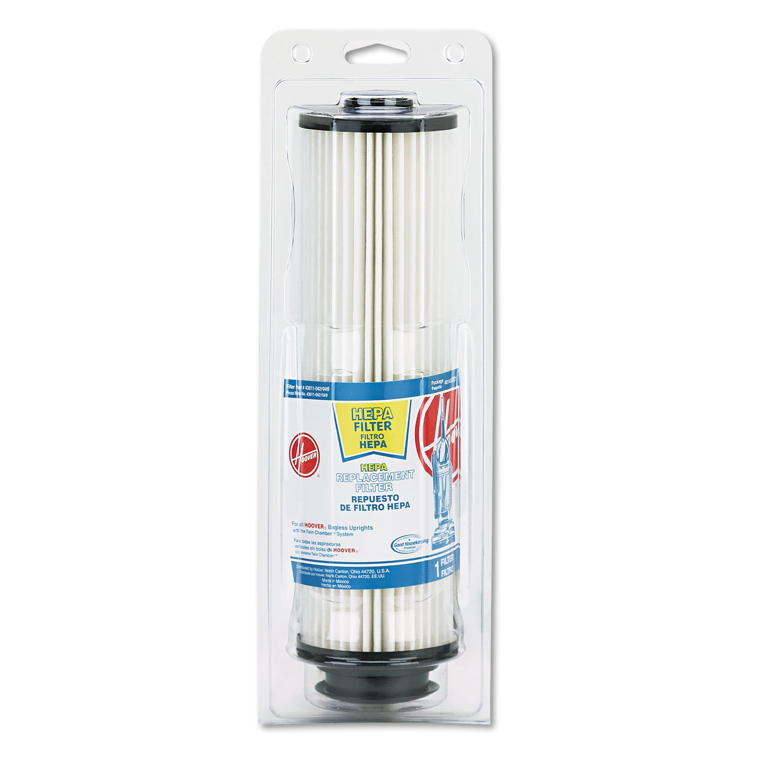 Replacement Filter for Commercial Hush Vacuum HVR40140201