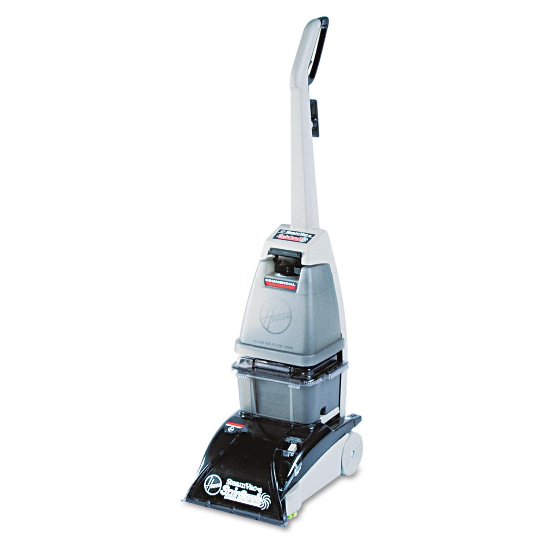 Commercial SteamVac Carpet Cleaner, Black