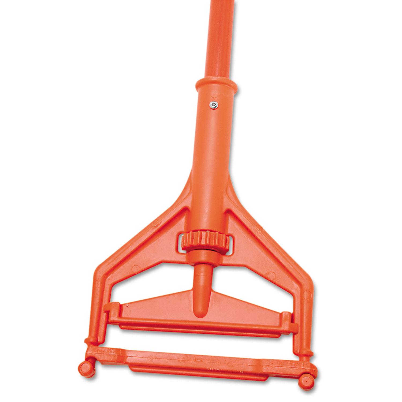 """Speed Change Mop Handle, 64"""", Orange"""