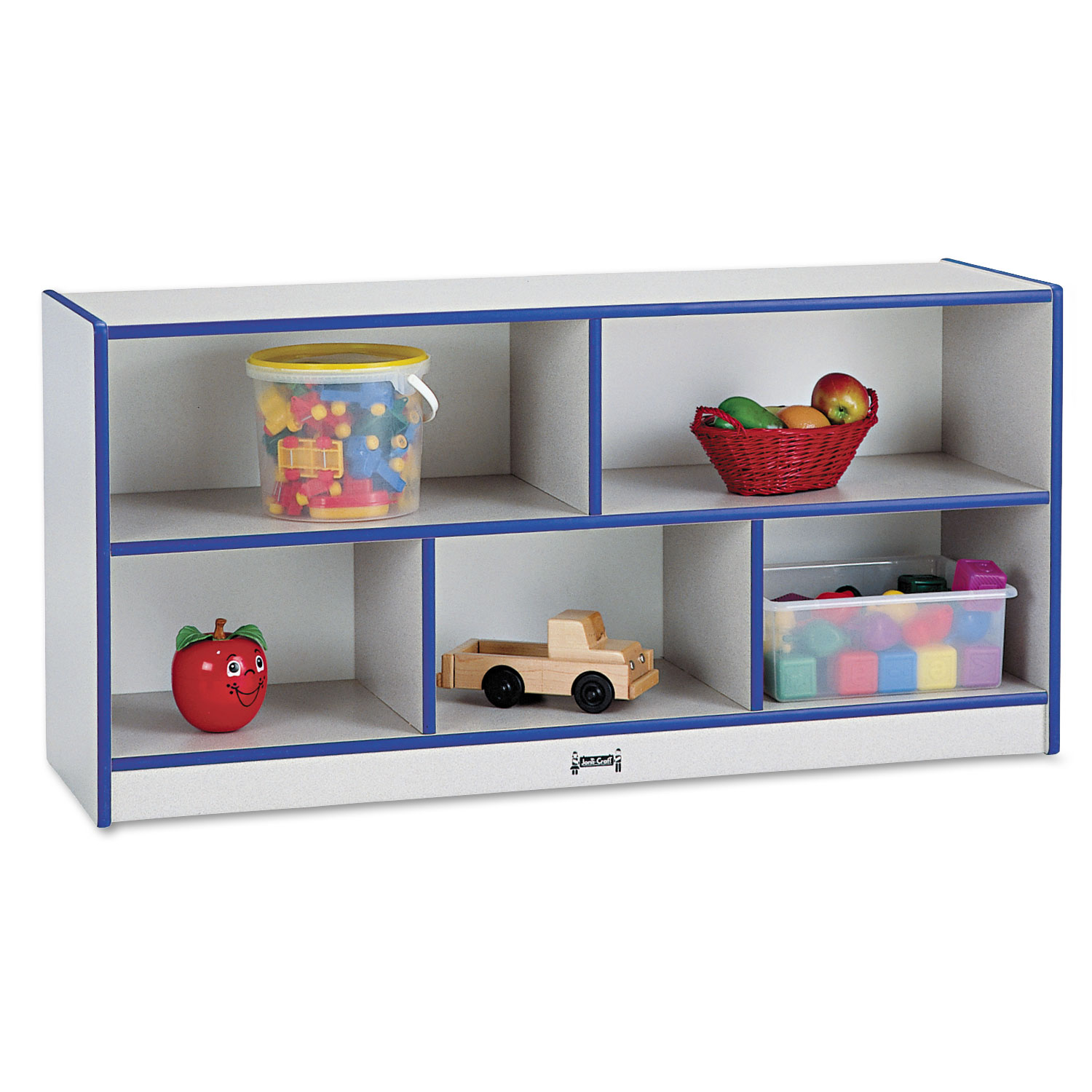 Ptm Images 12 In X 12 In The Color Purple Laminated: Rainbow Accents Single Storage Units, 48w X 15d X 24-1/2h