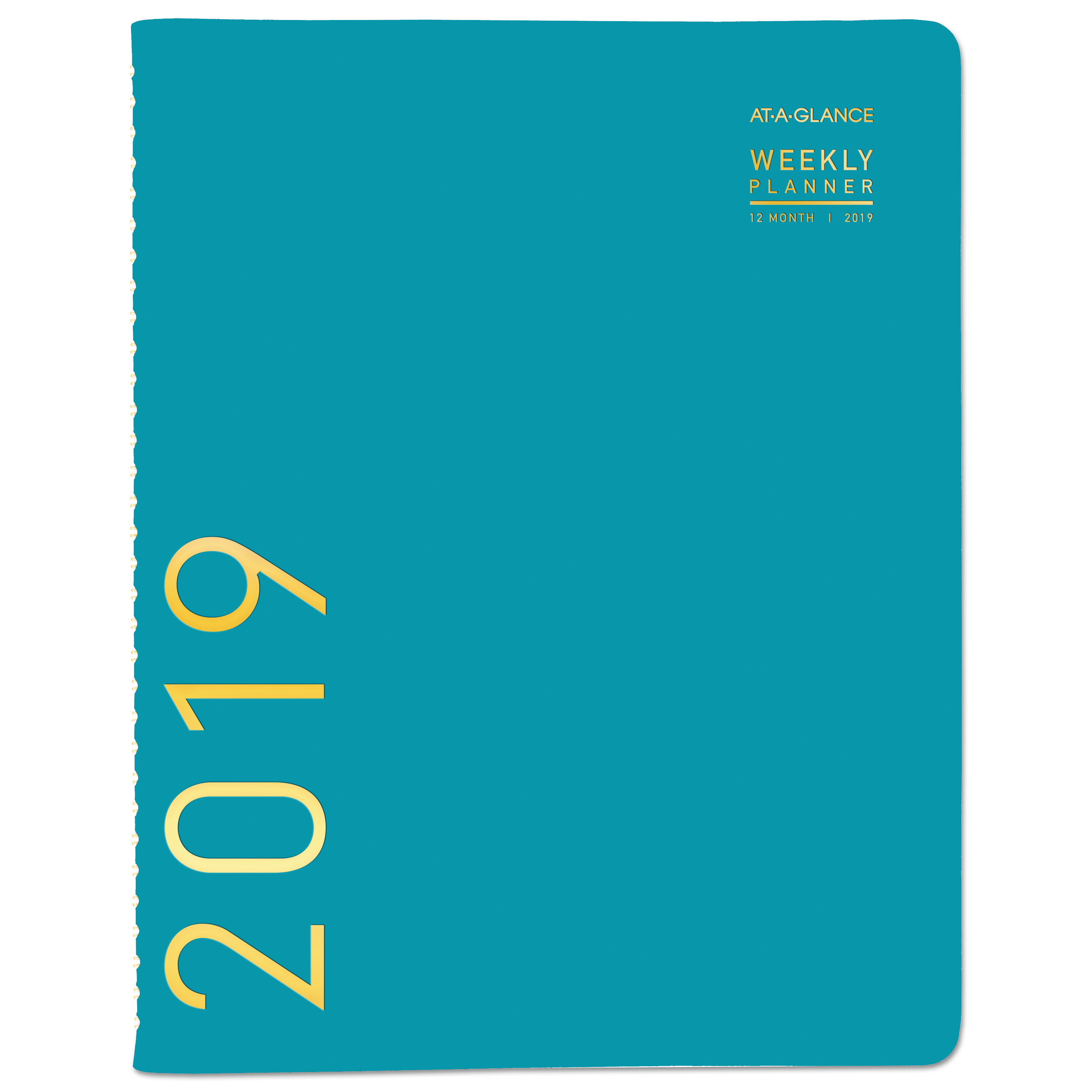 Contemporary Weekly Monthly Appointment Book, 8 1/4 X 10 7/8, Teal, 2020