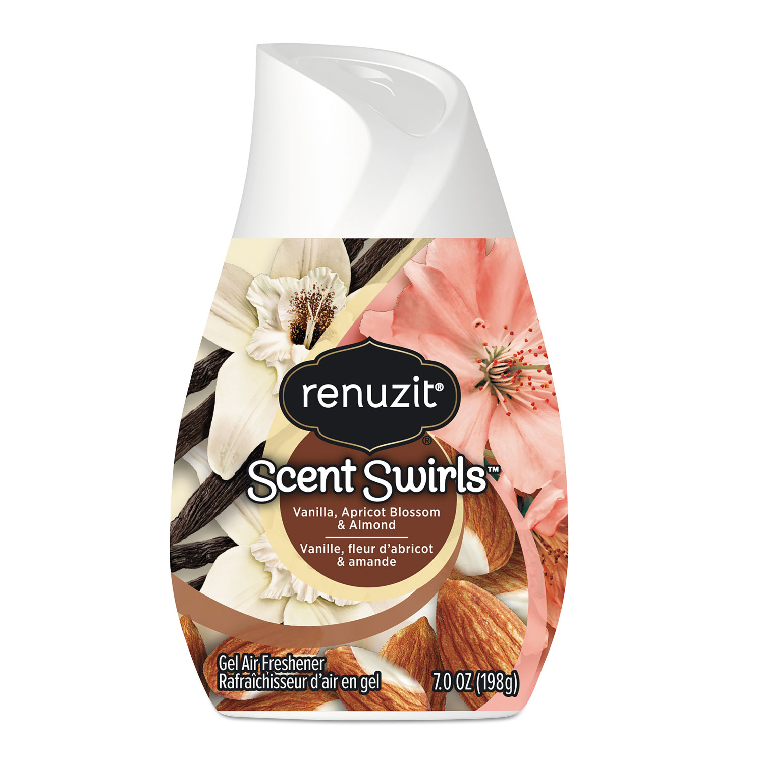 Adjustables Air Freshener, Vanilla, Apricot Blossom & Almond, 7 oz Solid