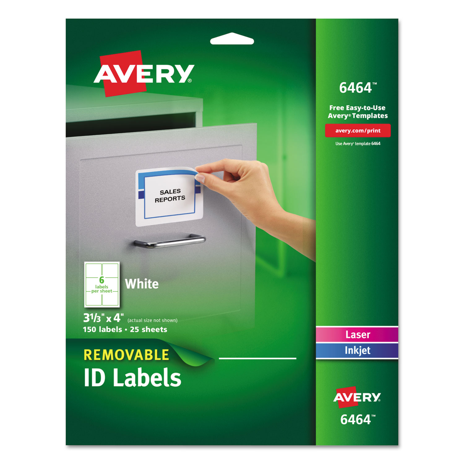 look for removable multi use labels and other office labels