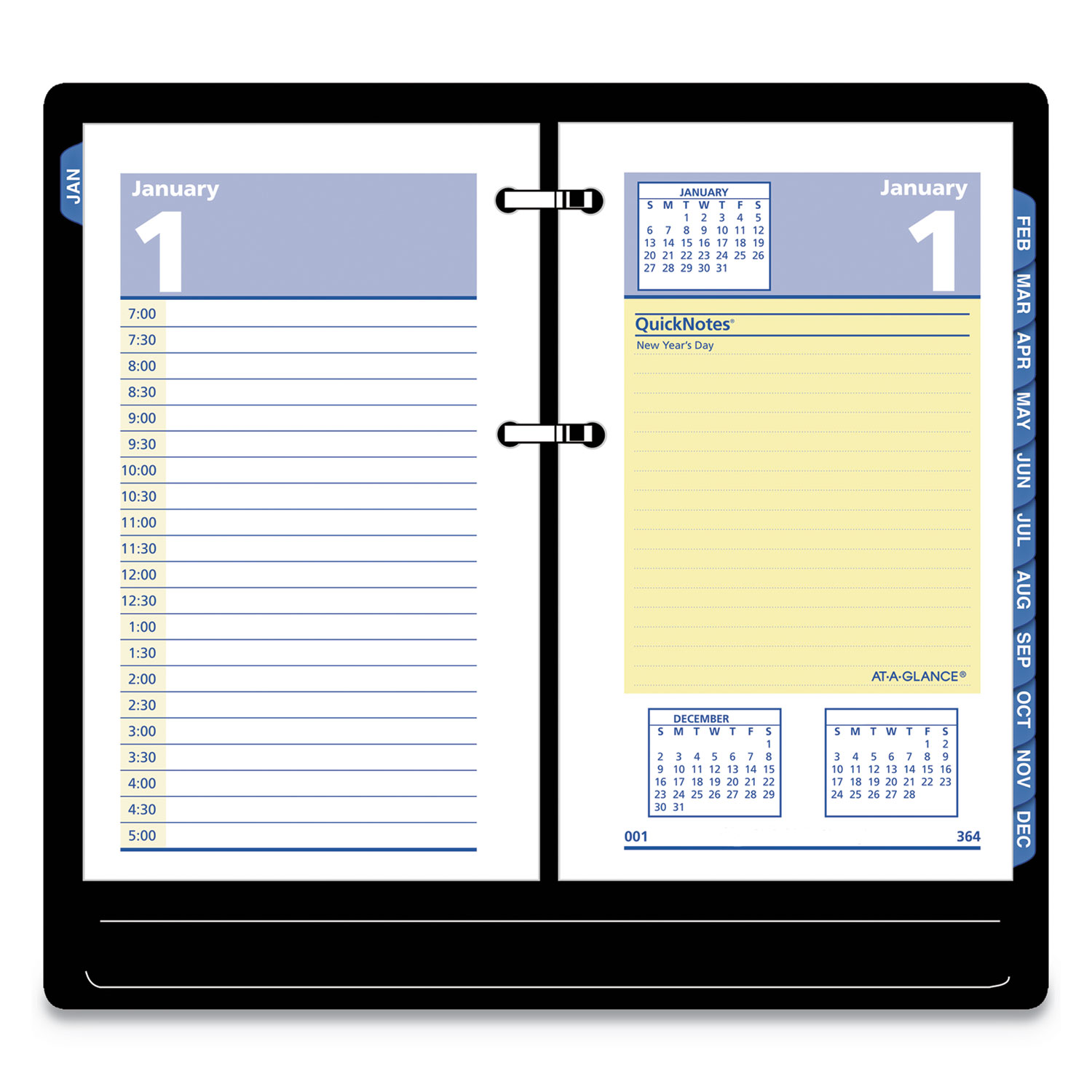 Quicknotes Desk Calendar Refill By At A Glance 174 Aage51750