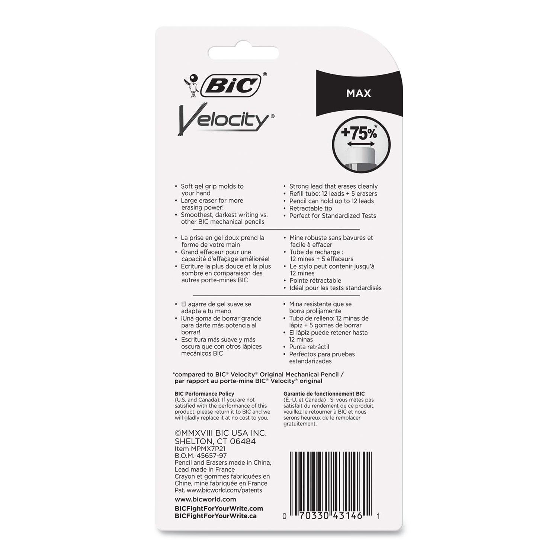 Velocity Max Pencil, 0 7 mm, Assorted, 2/Pack - TEK Distributors