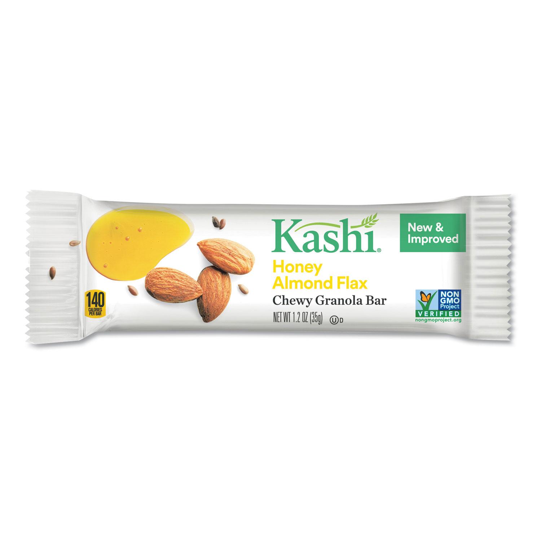 Kashi TLC Chewy Granola Bars, Honey Almond Flax, 35 g, 12/Box